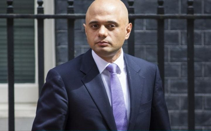 Sajid Javid, the Local Government Secretary, has hit back at criticism over business rates