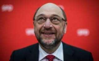 he newly appointed leader of the Social Democratic Party (SPD) and candidate for chancellor Martin Schulz