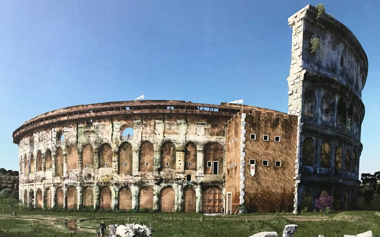 Exhibition Reveals Hidden History Of Colosseum After The