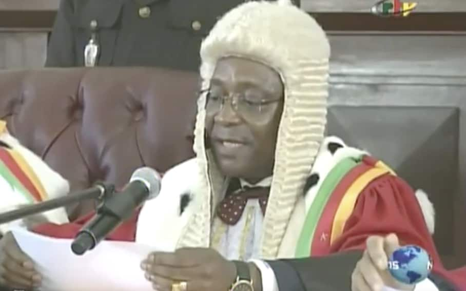 Cameroon's head of the Supreme Court