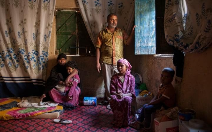Hassan Cabdoo, 40 fed the conlict in Yemen with his Wife, Nimco Ibrahim and their 3 children