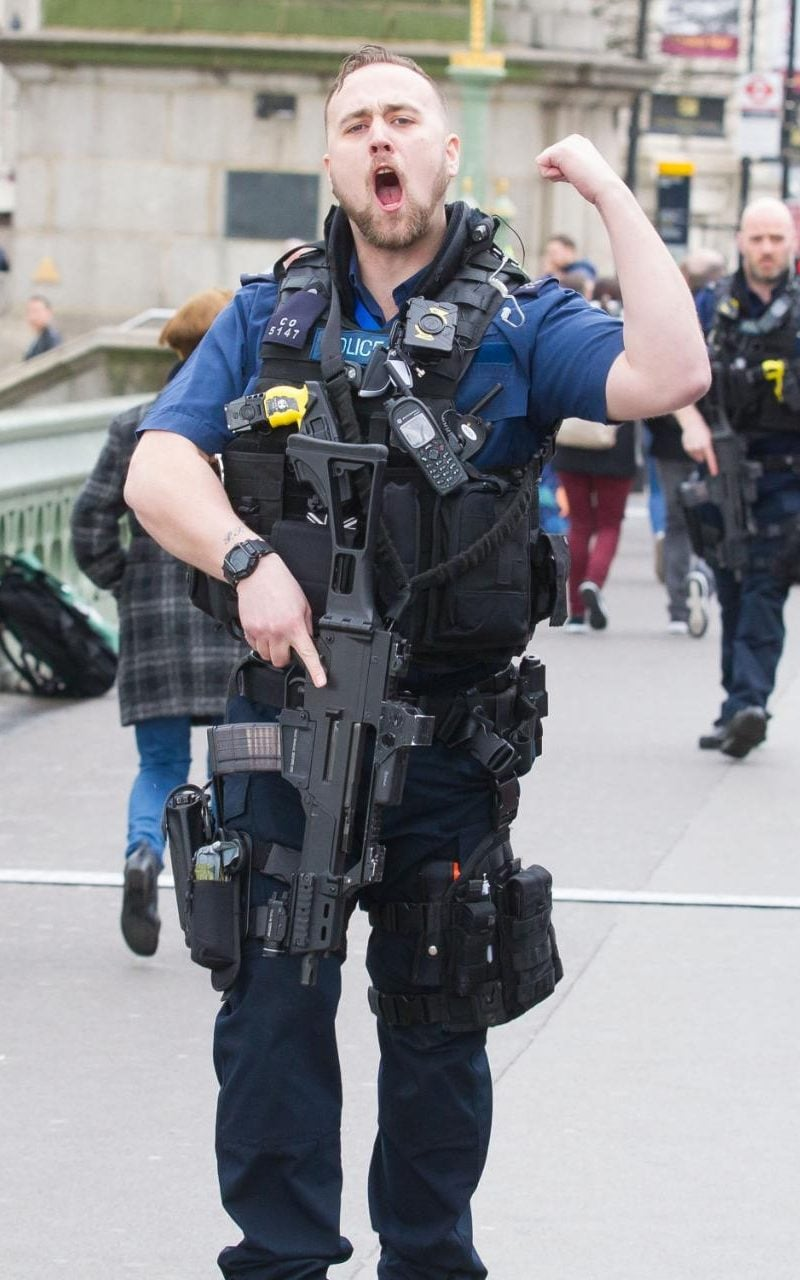 Police trying to keep control