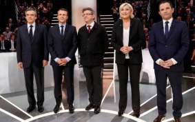 Image result for French Presidential election: Candidates' scandals affect campaigns