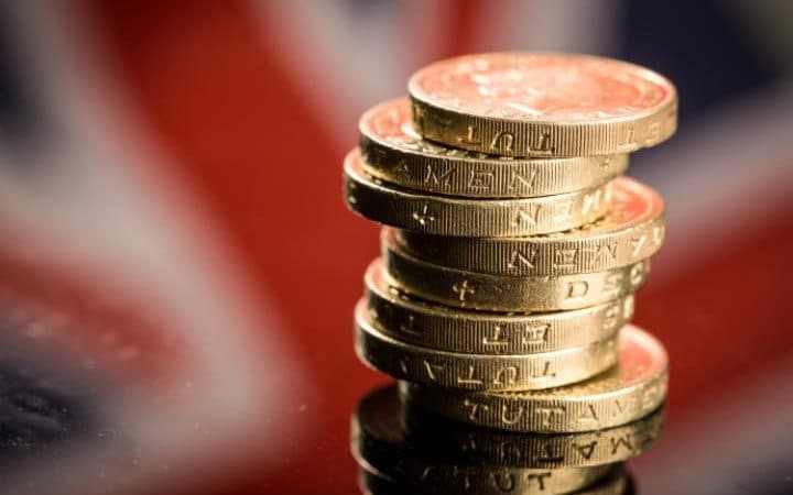 A stack of round pounds