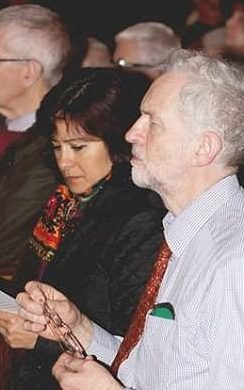 Jeremy Corbyn at a Deir Yassin Remembered event in 2013