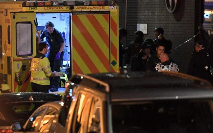 Ambulance on scene