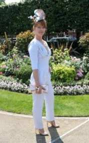 One woman wore a jumpsuit to Royal Ascot on Tuesday
