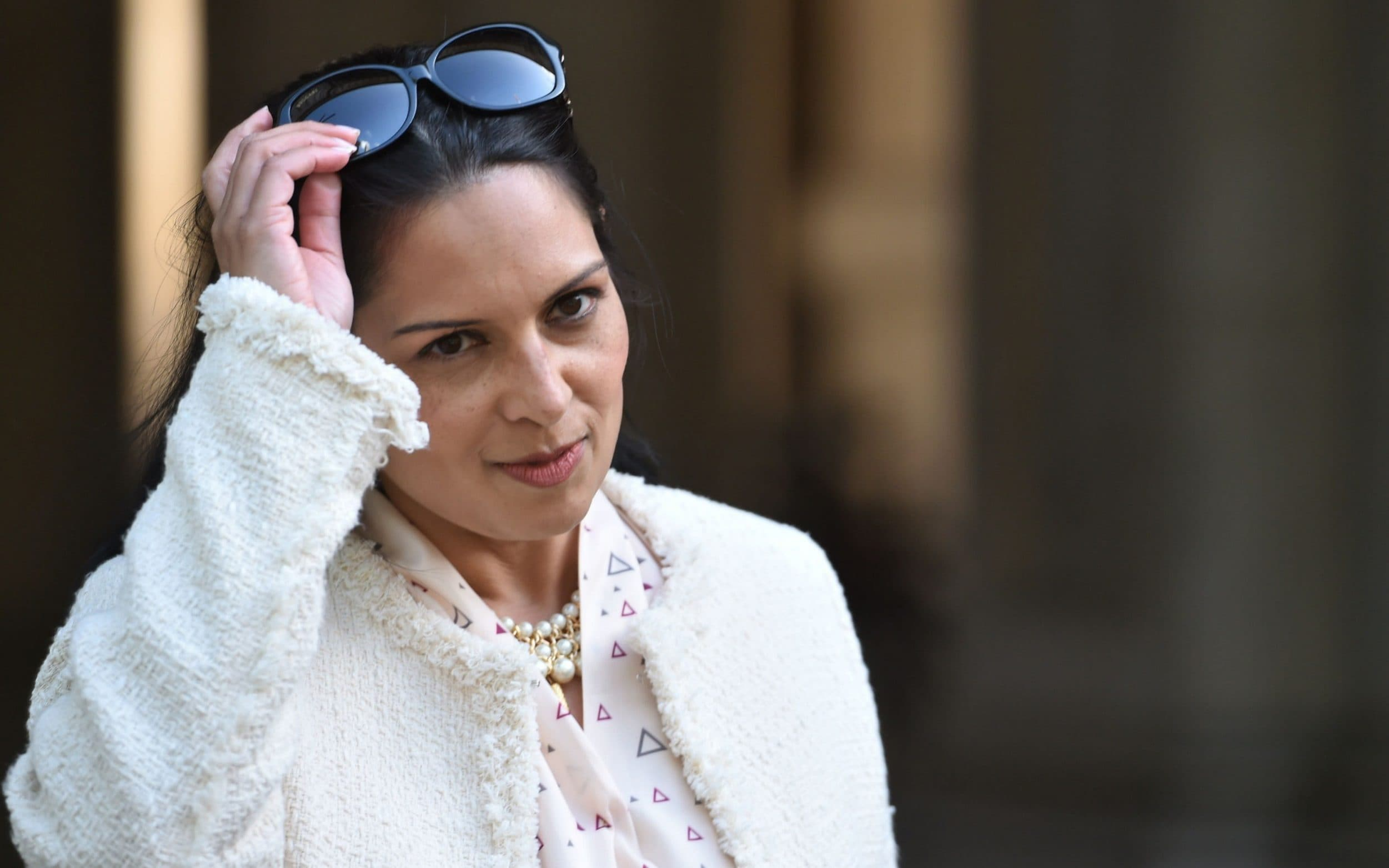 Priti Patel has accused the aid sector of hiding behind a 'culture of denial'