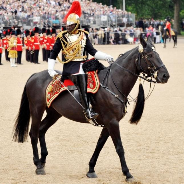 The 38-year-old is a veteran of Afghanistan from the Household Cavalry
