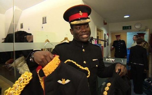 Major Twumasi-Ankrah is known as TA to his friends