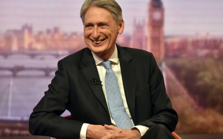Philip Hammond on The Andrew Marr Show