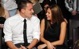 Footballer John Terry and Wife, Toni Poole