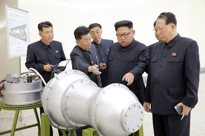 Image result for images North Korea's nuclear tests on Sep. 3, 2017