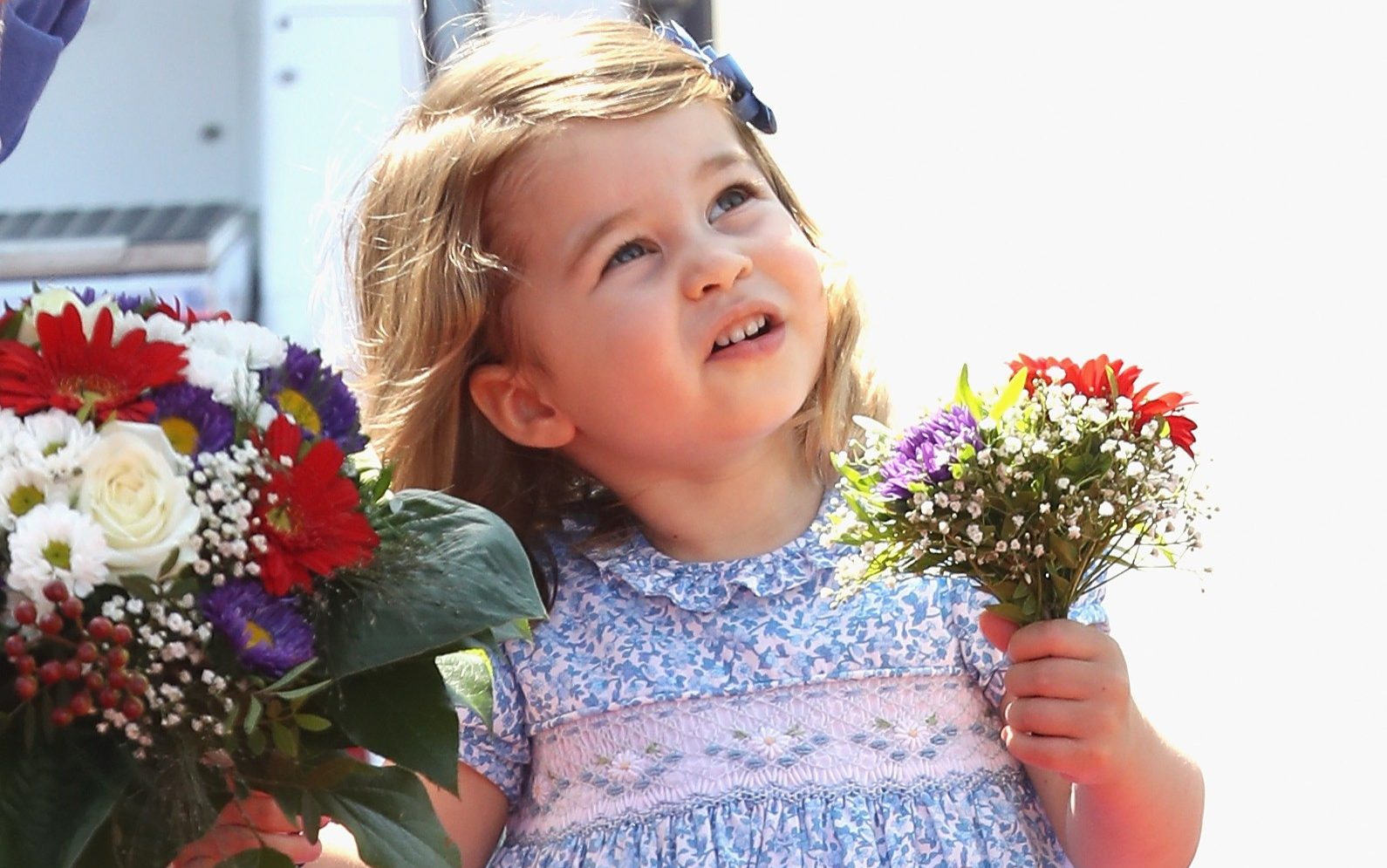 Princess Charlotte in July