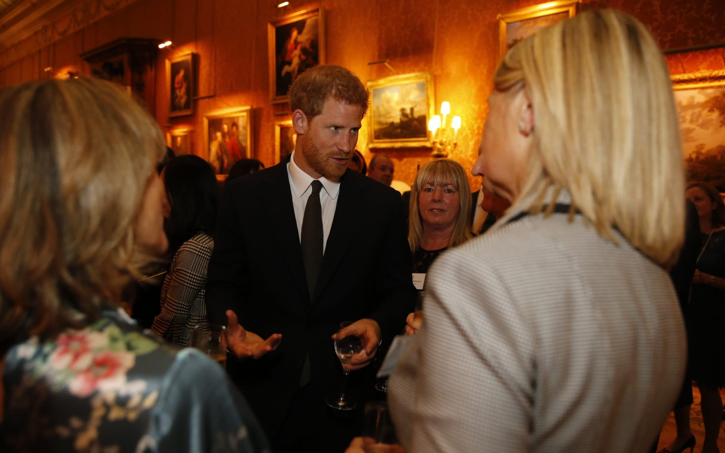Prince Harry also attended the event