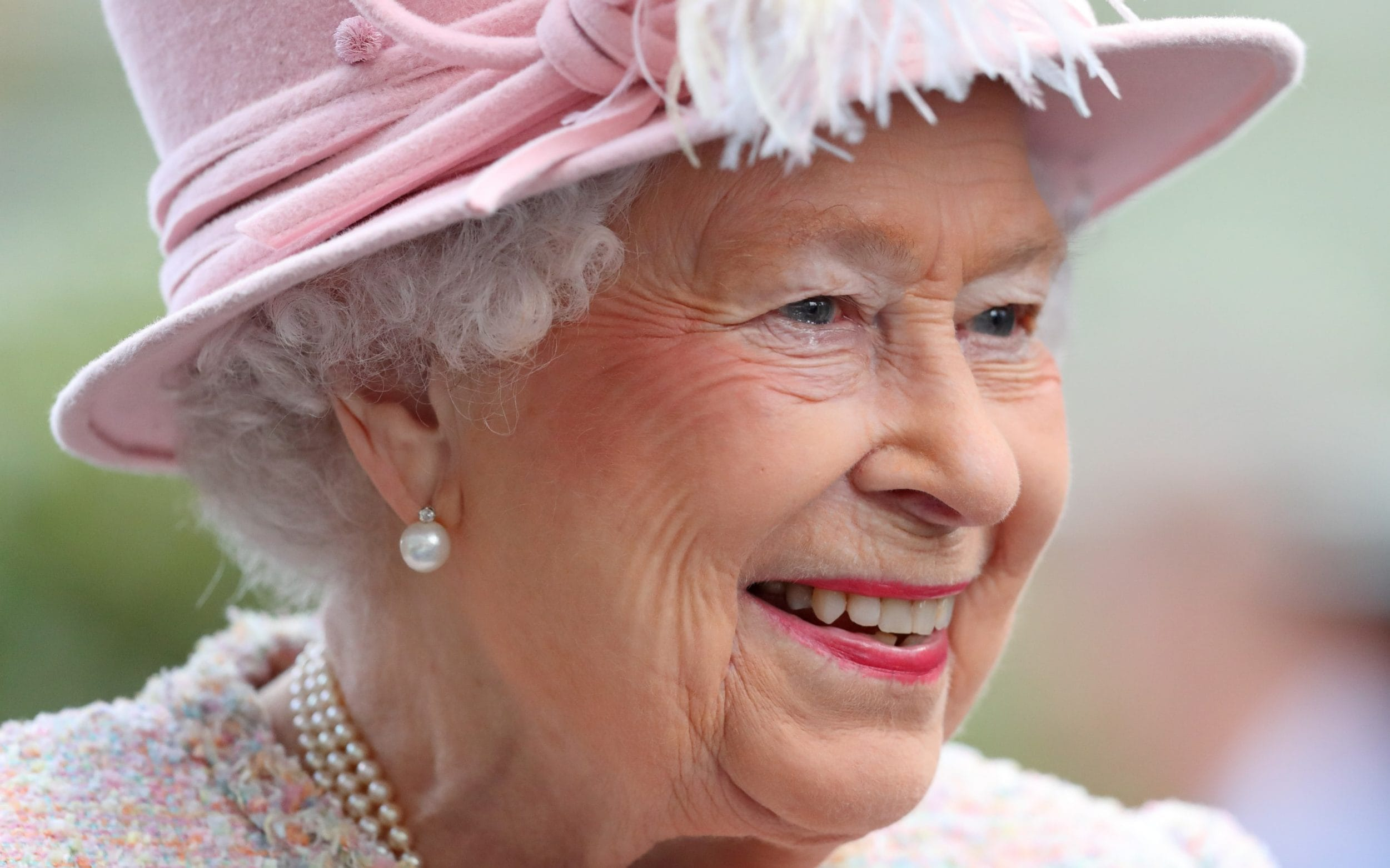 The Queen at Ascot this year