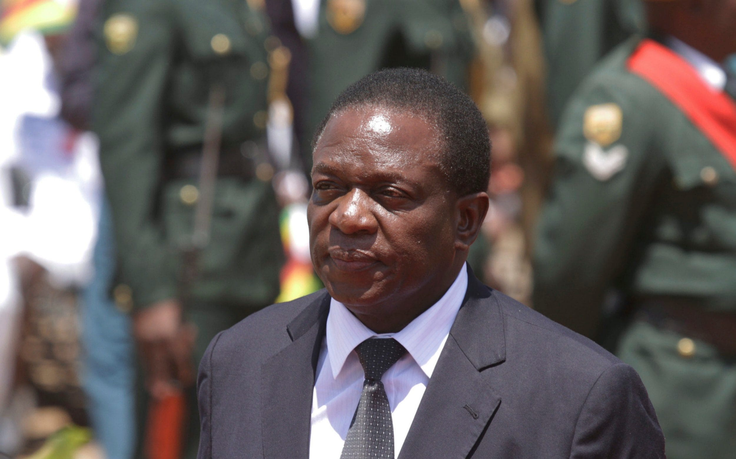 Image result for Emmerson Mnangagwa sworn in