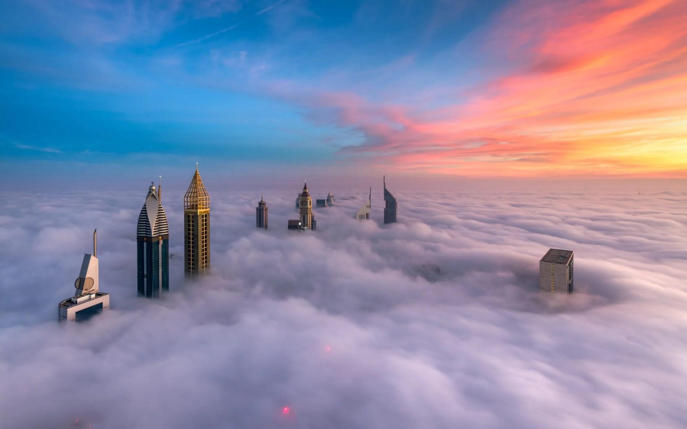 dubai s skyscrapers photographed