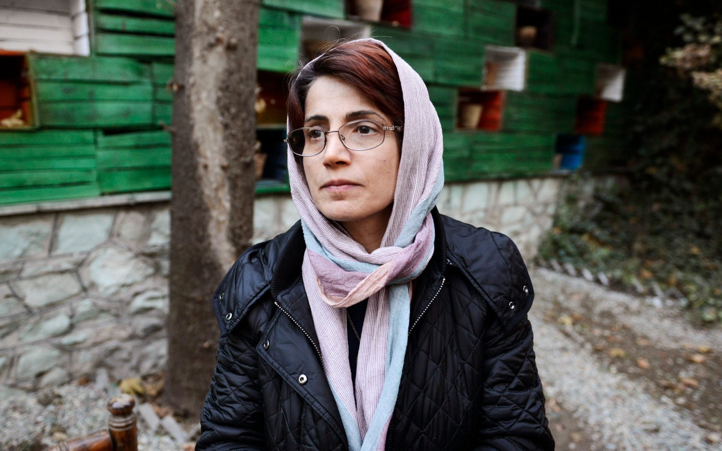 Nasrin Sotoudeh was jailed for three years from 2010 and is now defending women arrested for protesting against being forced to wear the hijab