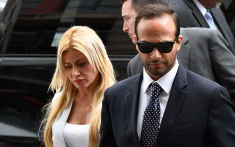 George Papadopoulos became the first campaign aide to be sentenced in special counsel Robert Mueller's ongoing investigation. With his wife Simona Mangiante Papadopoulos