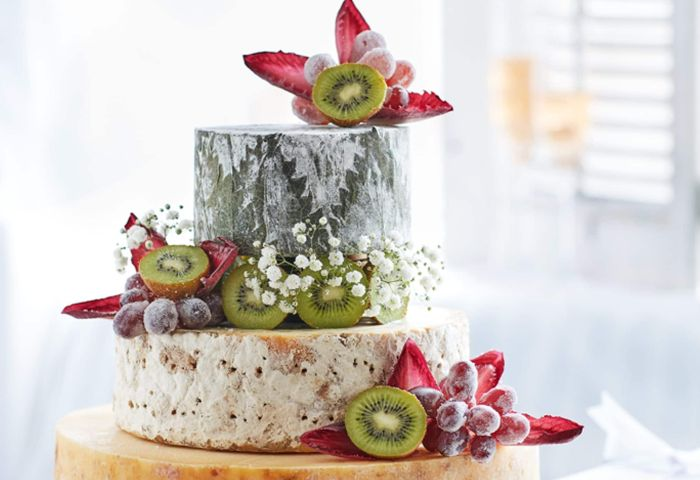 Wedding Cakes Being Swapped For Giant Cheeses As Couples Join