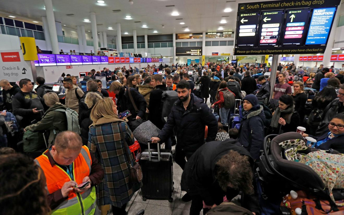 Gatwick airport drone chaos: Man, 47, and woman, 54, arrested in ...