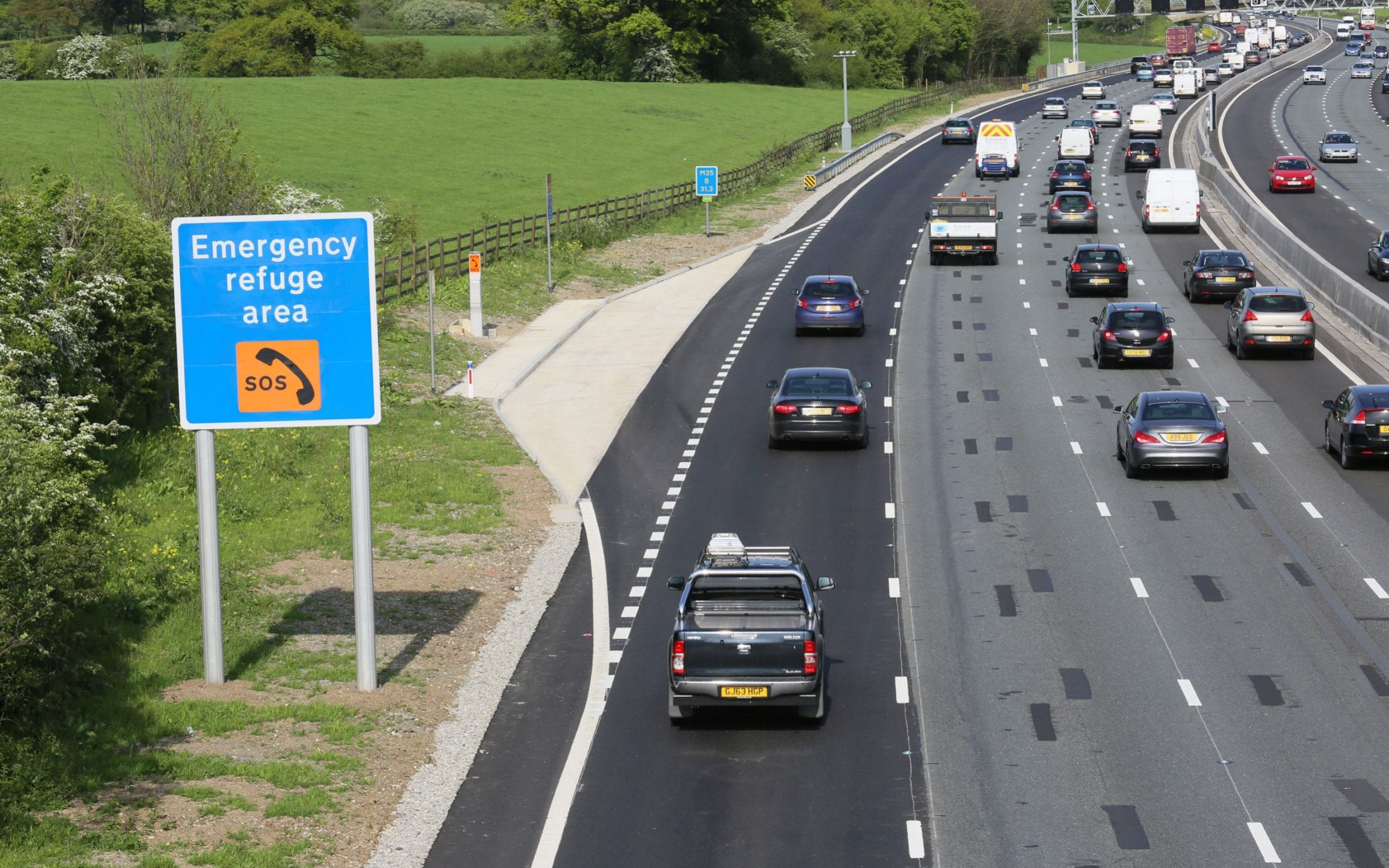 Smart motorways have come under fire from MPs