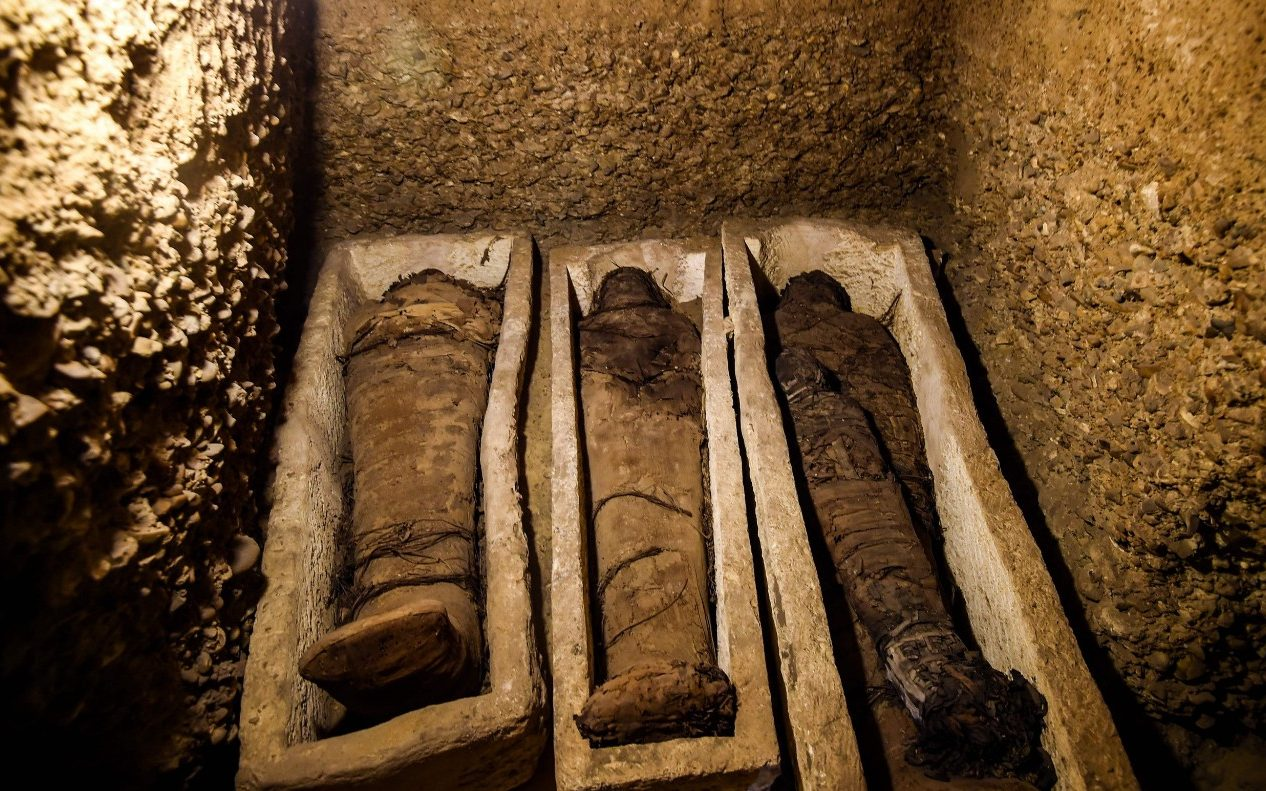 Egypt Unveils Pharaonic Tomb Containing 50 Mummies