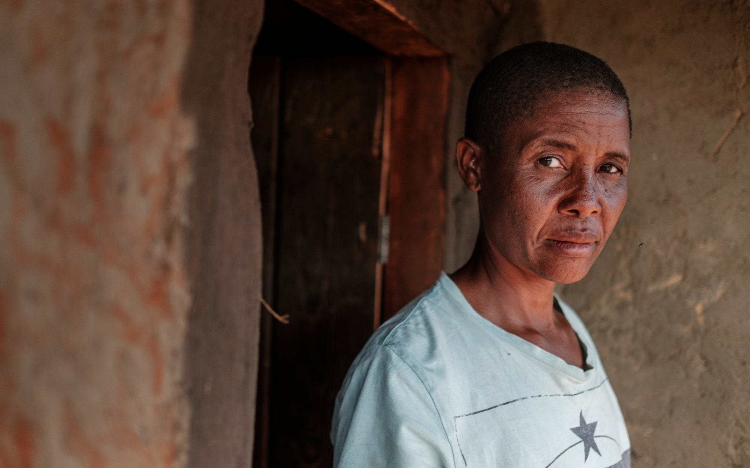 Misa Mawlidi, 38, saw her son Goodson kidnapped as she was forced to choose which of her children to save
