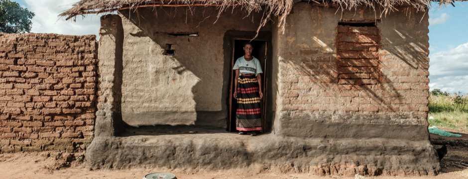 Mawlidi, 38, stands in the doorway of the home where the kidnapping took place CREDIT: EDUARDO SOTERAS JALIL