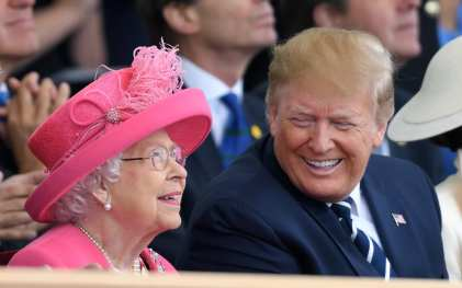 Donald Trump praises Queen amid Sussexes row: 'This shouldn't be happening to her'