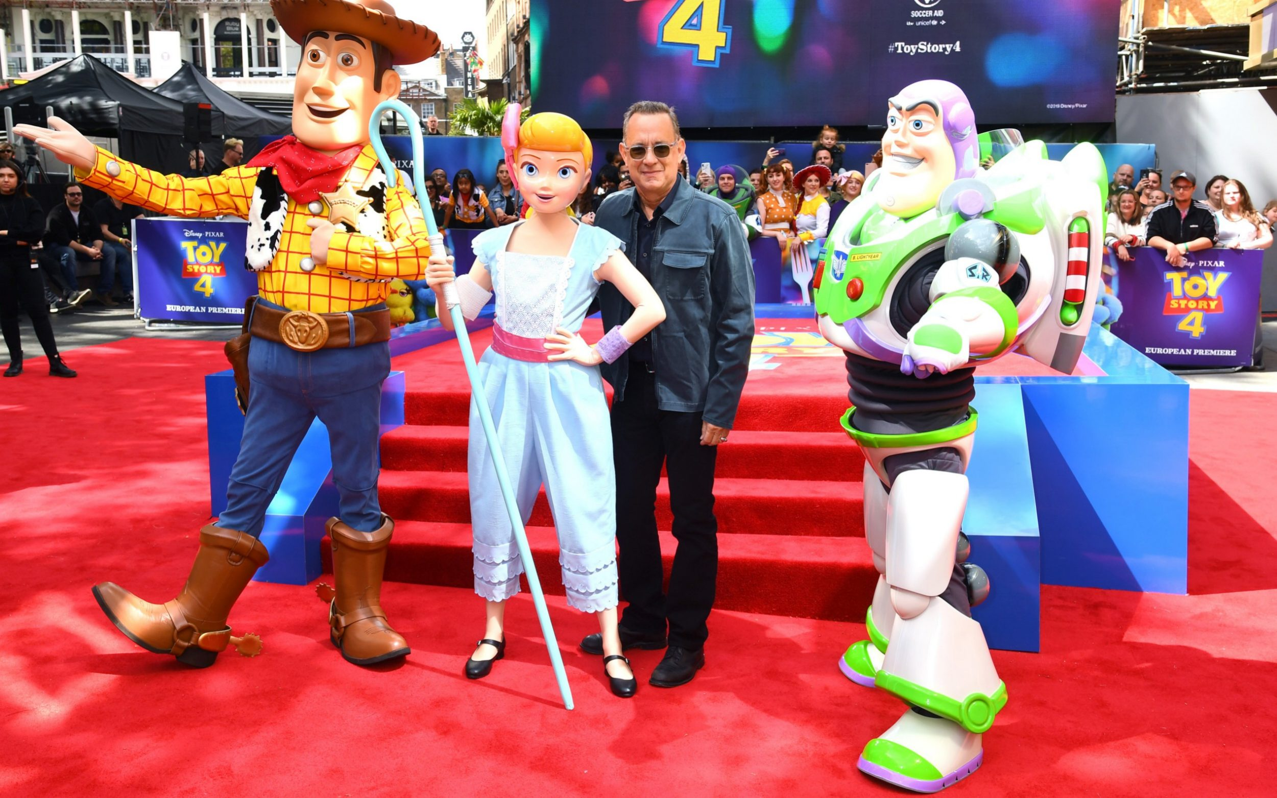 Tom Hanks Signs Autographs As He Attends The Toy Story 4