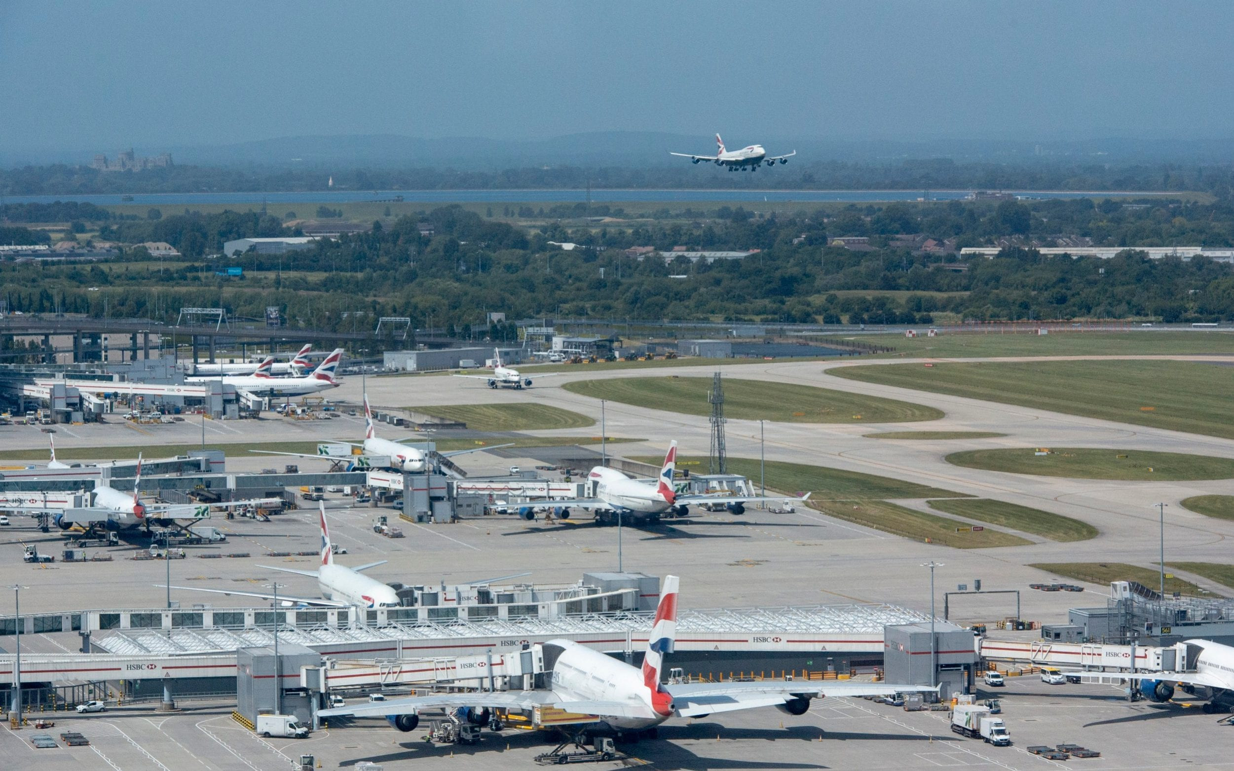 airport strikes more than