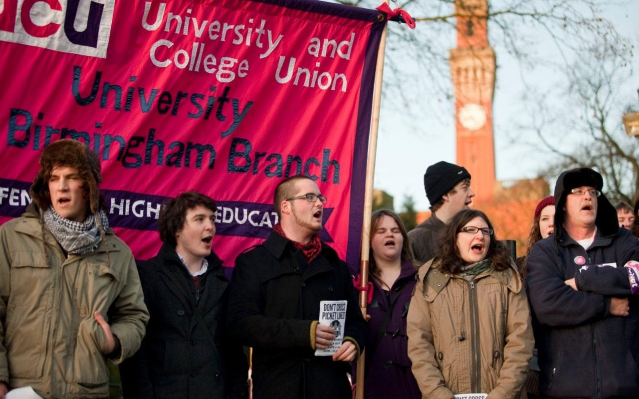 Over a million students face disruption as academics from 56 universities sign up to strike over pay and pensions