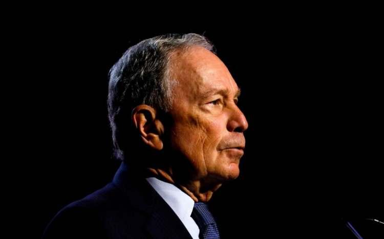 Joe Biden throws down gauntlet to Michael Bloomberg, saying 'I am pretty far forward'