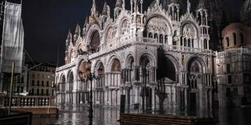 Venice hit by highest tide in more than 50 years, in pictures