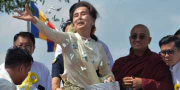 Aung San Suu Kyi faces first legal action over 'existential menace' to Rohingya