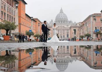 Historic shift in Italy as civil ceremonies surpass church weddings for first time