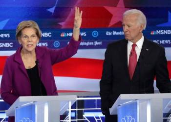 Joe Biden turns impeachment to his advantage in fifth Democrat debate
