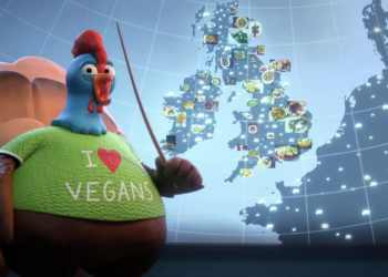 BBC accused of being partial on poultry with Christmas advert featuring vegan turkeys