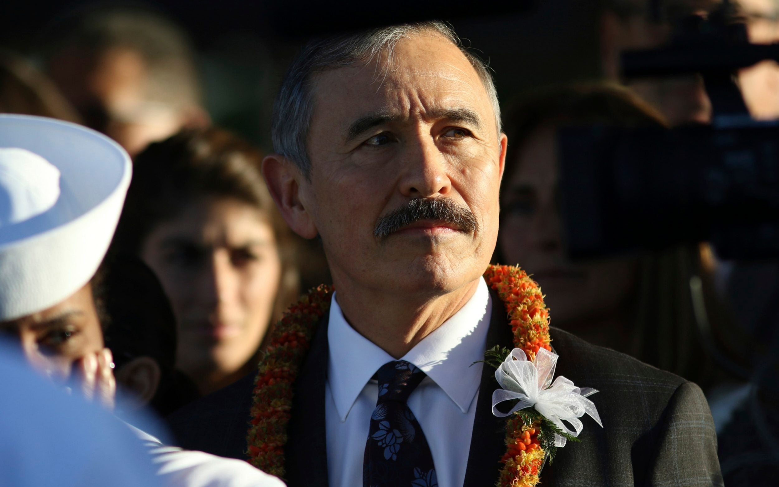 Image result for US diplomat's moustache leaves South Koreans bristling with anger