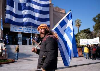 Greek islands stage general strike against migrant camps, saying 'we want our islands again'