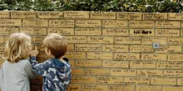 The little known Holocaust memorial built by German schoolchildren that inspired a civil rights activist