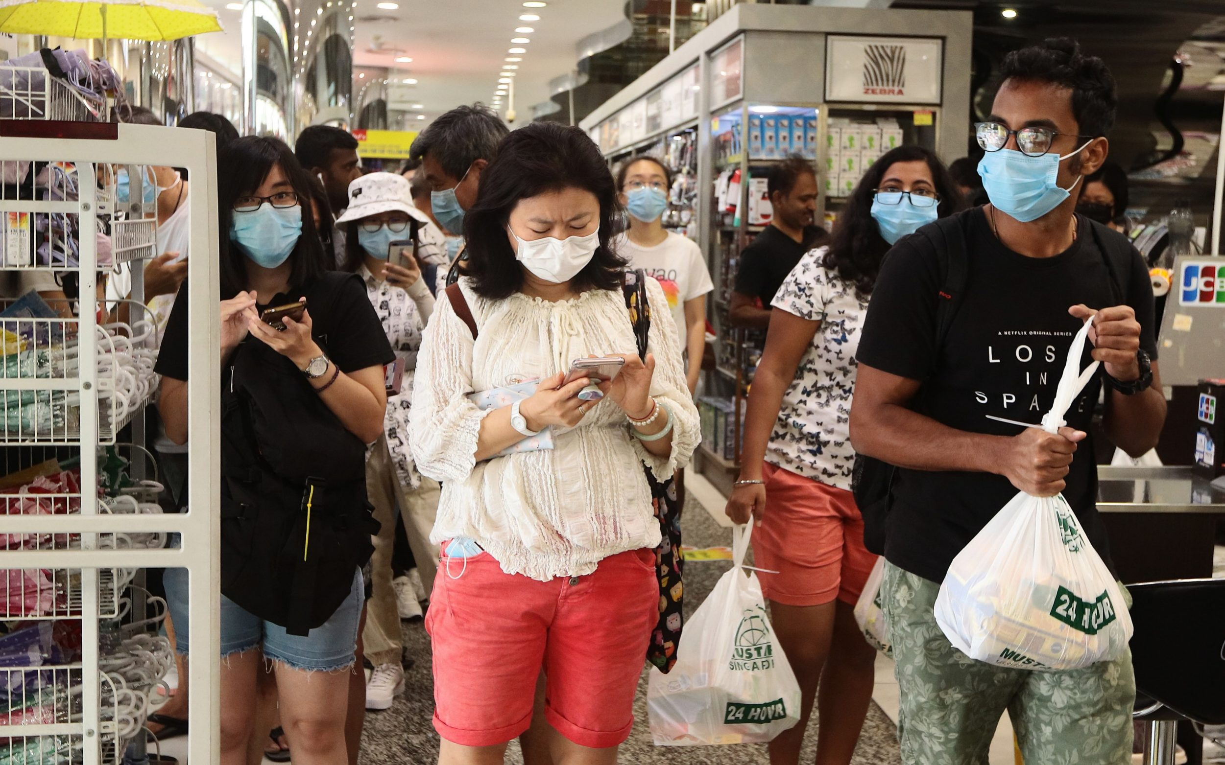 Singapore shows how to stop coronavirus without bringing the world ...