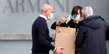 Giorgio Armani cancels Milan Fashion Week show over coronavirus fears