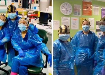 Unique: Three nurses forced to wear bin bags because of PPE shortage test positive for coronavirus