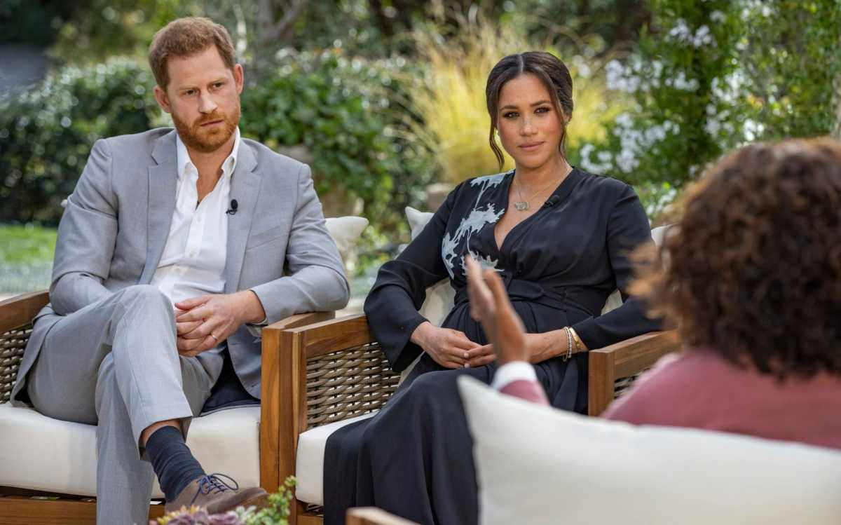 Prince Harry joins the interview