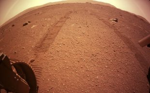 New Mars pictures: Nasa's rover Perseverance takes the first drive on the Red Planet – The Telegraph
