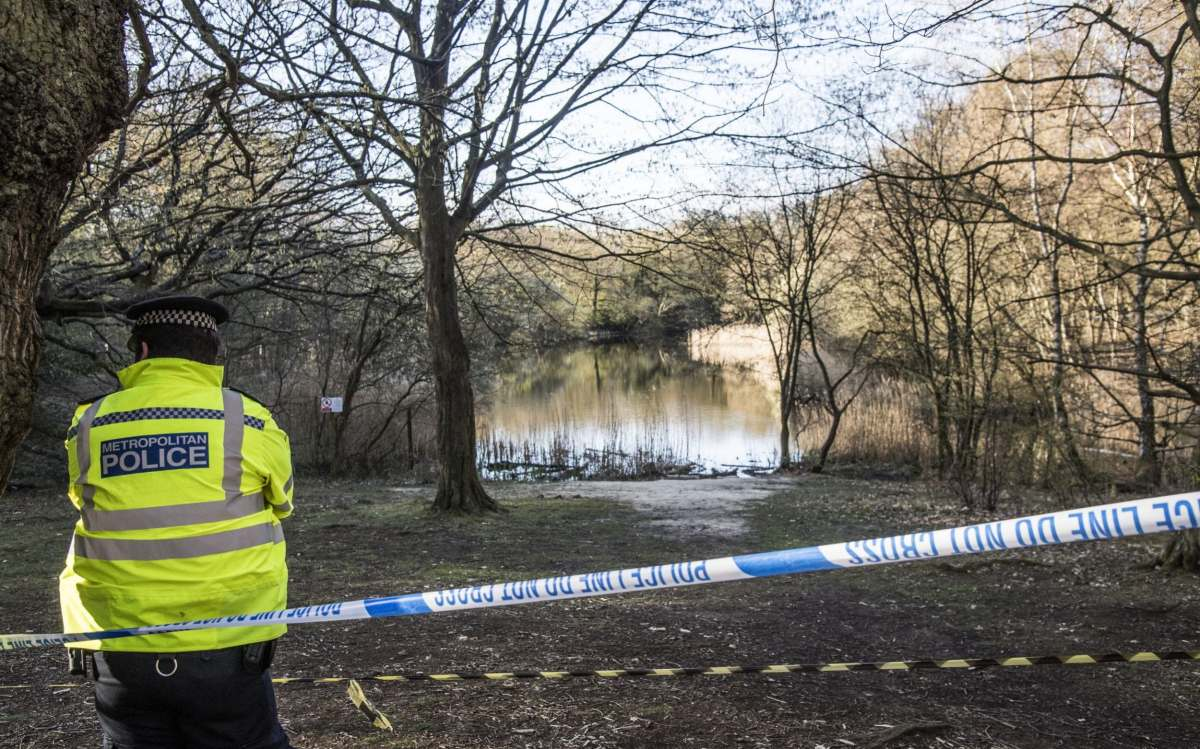 The body was discovered in the Wake Valley pond
