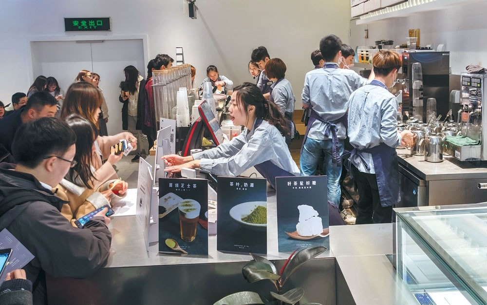 Fusion tea becomes big business in China thanks to millennials